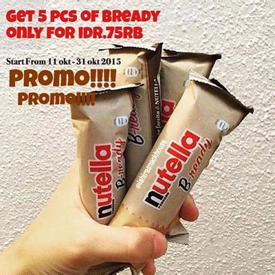 Pp Paket Bantal Pillow Nyaman Buy 1 G buy nutella bready paket promo get 5 pcs only 85 000 crunchy wafer with nutella and