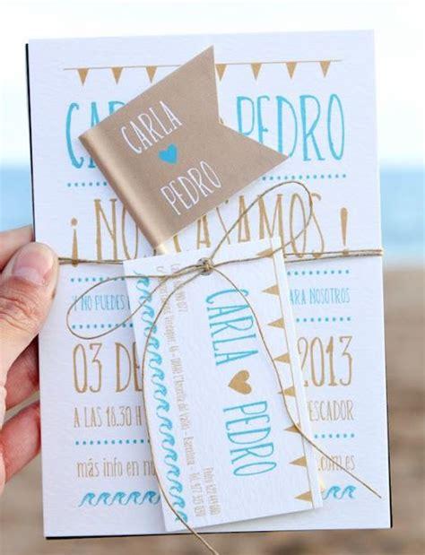 invitaciones originales para anunciar tu boda nosotras diy tarjetas originales para anunciar tu boda nosotras
