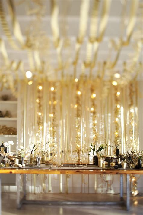 gold event themes 12 tips for a golden new years eve party