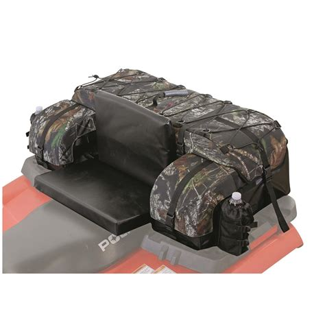 atv tek arch series atv rear cargo bag mossy oak 583647