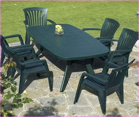 enjoy your garden with plastic outdoor furniture home