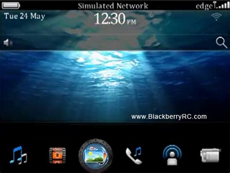 hd themes for blackberry underwater hd 3d theme free blackberry themes download