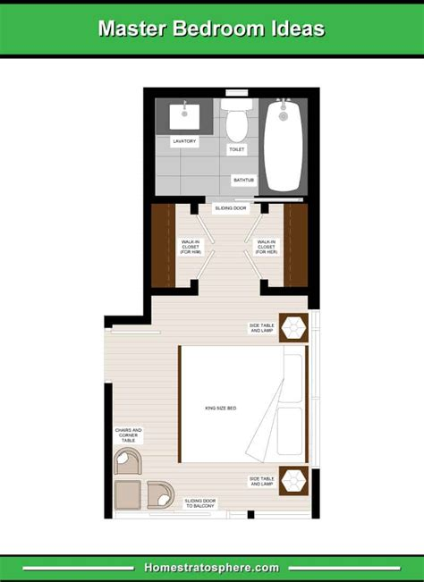 master bedroom floor plans computer drawings