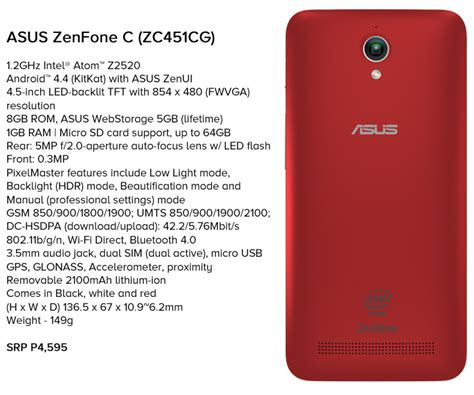 Capdase Asus Zenfone C Silikon Zenfone C asus philippines announces zenfone c swirlingovercoffee