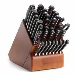 Best Kitchen Knives Block Set wusthof classic supreme cutlery set with knife block 36 piece at
