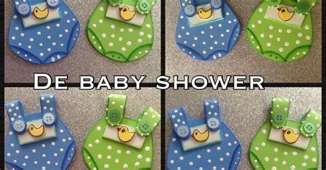 recuerdos de baby shower para ni 209 o en foamy o goma