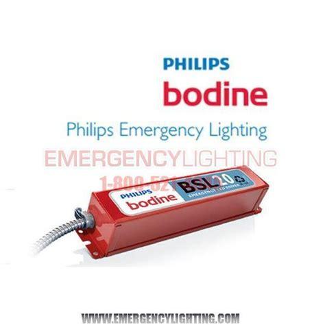 led bodenle bodine bsl20lv cul bodine ballast emergency lighting