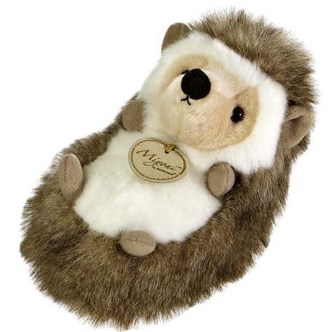 realistic stuffed realistic stuffed hedgehog 7 inch plush animal by