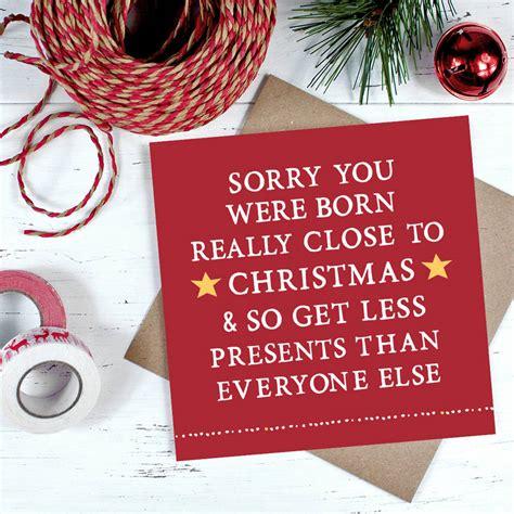 Close To Christmas  Ee  Birthday Ee   Card By Zoe Brennan