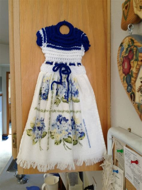 crochet pattern kitchen towel topper crochet towel toppers crochet towel topper crocheting