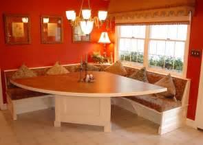 nook bench kitchen dining design solution timonium built in corner dinette traditional dining room