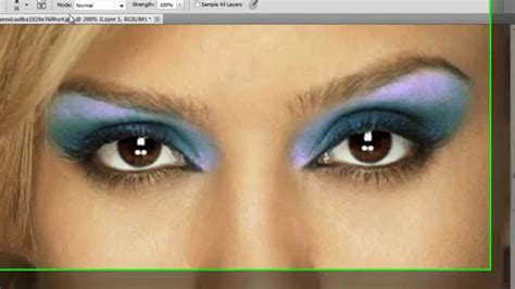 tutorial eyeshadow wardah seri m photoshop cs6 cc digital make up tutorial youtube