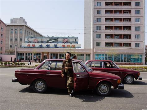 volvo north how 1 000 volvos ended up in north korea and made a