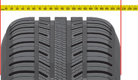 section width tire section width what is the section width of a tire