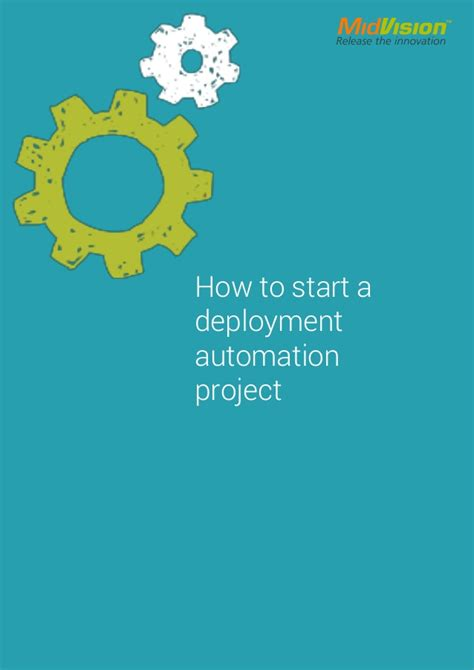 how to start a deployment automation project