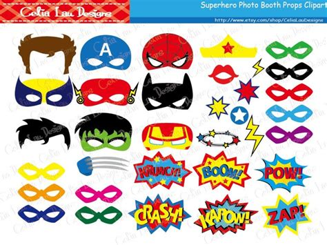 printable photo booth props superhero superhero photo booth props diy printable superhero masks