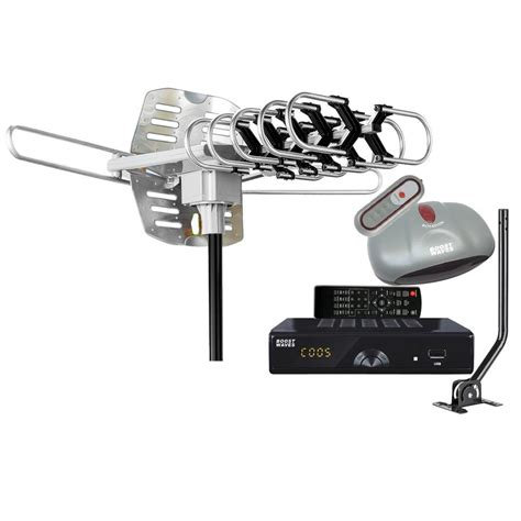 hdtv antenna and cable together boostwaves all in one antenna digital converter box dvr