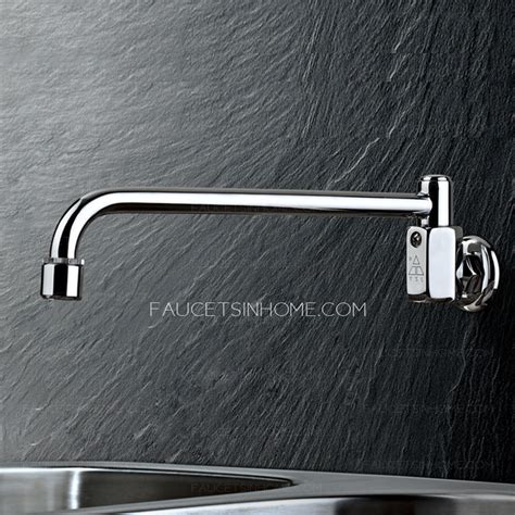 wall mounted kitchen sink faucets best wall mounted thick brass free kitchen sink faucet
