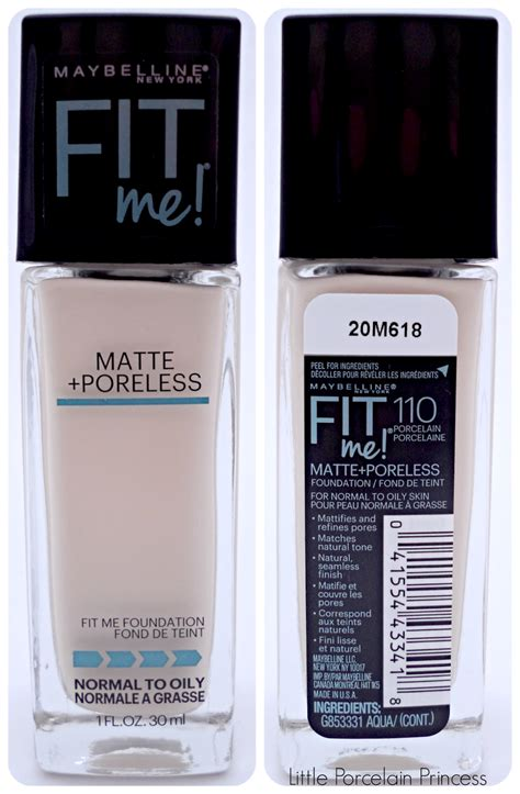 Maybelline Fit Me Dewy Smooth Foundation porcelain princess review maybelline fit me dewy