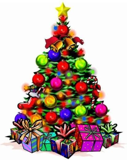 navidad historia del arbol de navidad el candil de los