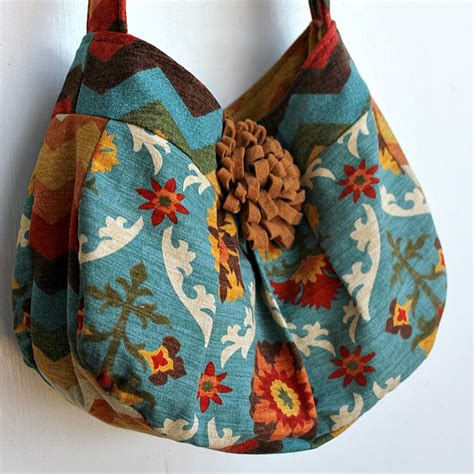 Handmade Bag Patterns Free - tote bag pattern hobo bag sewing pattern free