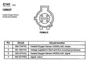 ford o2 sensor wiring o2 ford free wiring diagrams