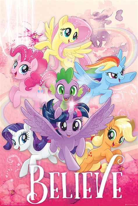 film bioskop little pony poster quadro my little pony movie believe su