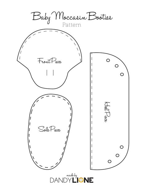 baby moccasin pattern free google search baby ideas