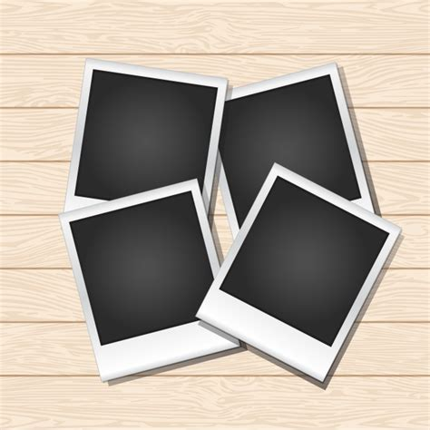 instant photo instant photo frames vector free