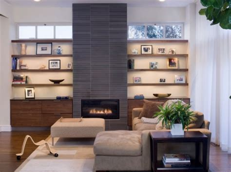 updating your fireplace with a modern designed variety