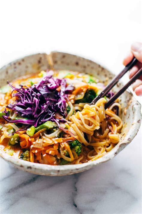 Rainbow Coconut Import Bangkok bangkok coconut curry noodle bowls recipe pinch of yum