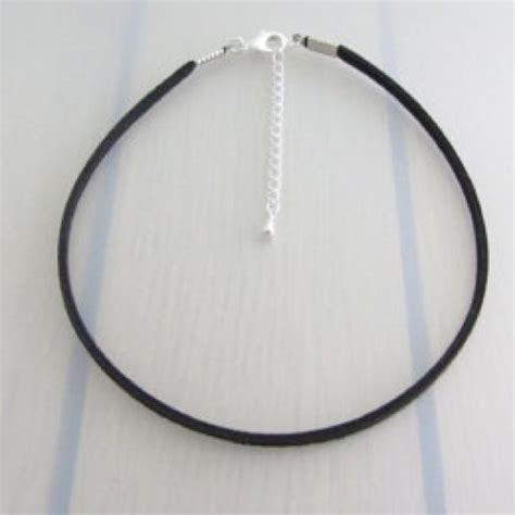 75 boutique jewelry classic faux suede thin black