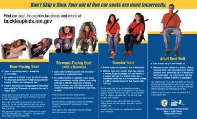 minnesota child seat laws mn booster seat brokeasshome