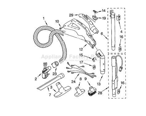 kenmore vacuum model 116 parts diagram kenmore 116 23512300 parts vacuum cleaners