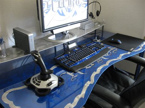 gaming desk computer desk gamer