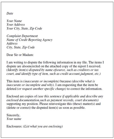 Sle Of Dispute Letter To Bank Credit Card Company Detectives Investigation Agency
