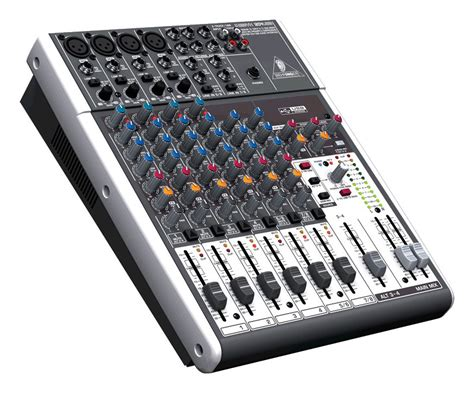 Mixer Behringer 12 Channel behringer xenyx 1204usb 12 channel mixer zzounds