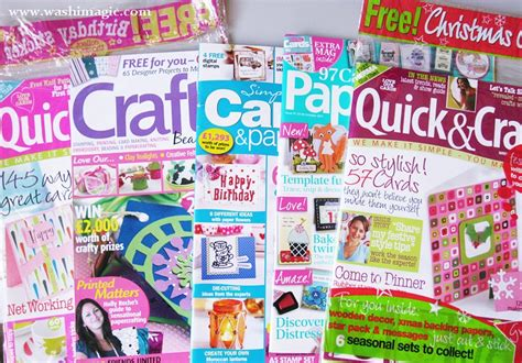 craft magazines for colorful sewing craft washi how would you use this