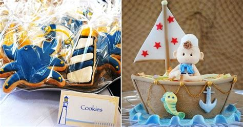 baby shower nautical theme nautical themed baby shower celebrations at home
