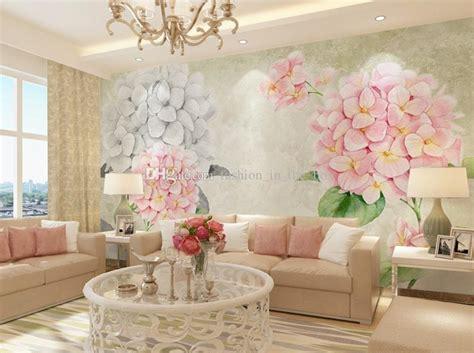 Flower Wallpaper Home Decor by 3d Wallpaper European Flowers Photo Wallpaper Wall Mural