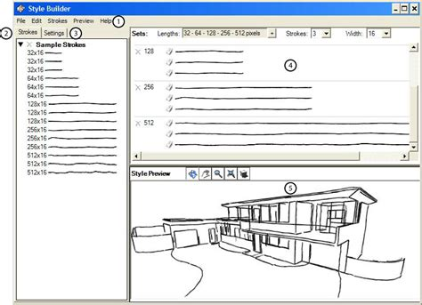 sketchup layout and style builder style builder user interface sketchup knowledge base