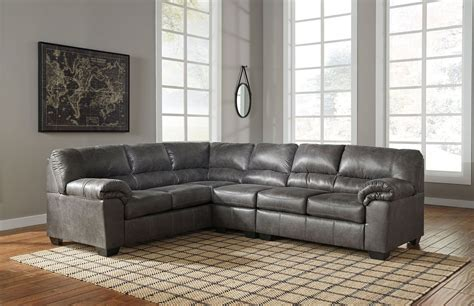 Sectional Sofas by Bladen Slate Laf Sofa Armless Chair Raf Loveseat