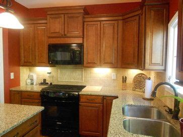 cognac kitchen cabinets kraftmaid cognac cabinets kitchen design ideas