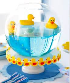 duck decorations home baby shower idea rubber ducky centerpiece trendsgirl