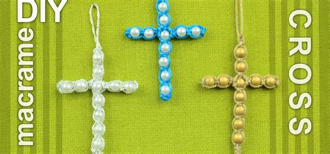 Macrame How To Make - how to make a easy macrame cross with 171 jewelry
