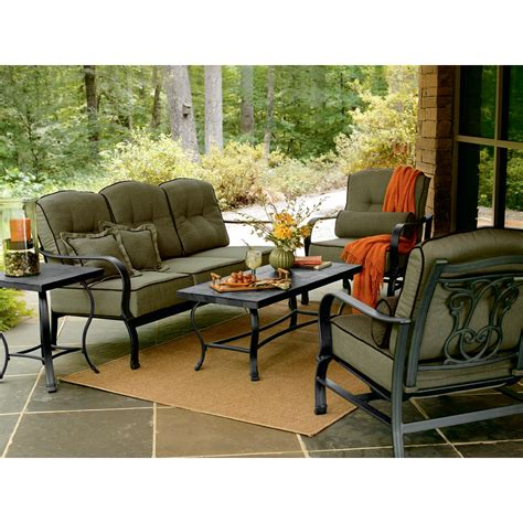 review la z boy outdoor aubree 5 pc seating set best