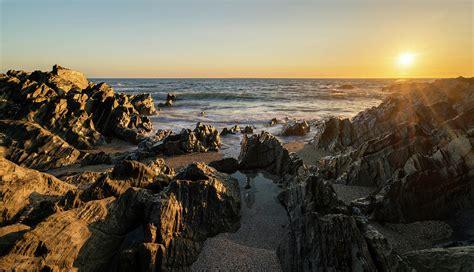 Vibrant Landscape Pictures Beautiful Vibrant Sunset Landscape Image Of Calm Sea