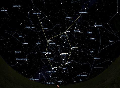 sternzeichen wagen www hobby astronomie orientierung am nachthimmel