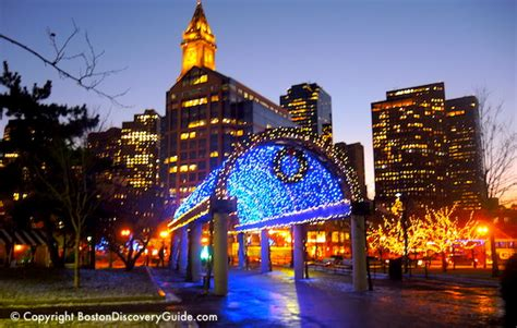 when was the first faneuil hall christmas tree top in boston events boston