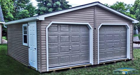 2 Stall Garage by 2 Car Prefab Garages Prefab Two Car Garage Horizon